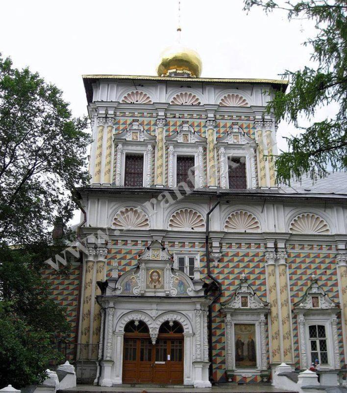 Ремонт дымохода трапезной Троице-Сергиевой лавры