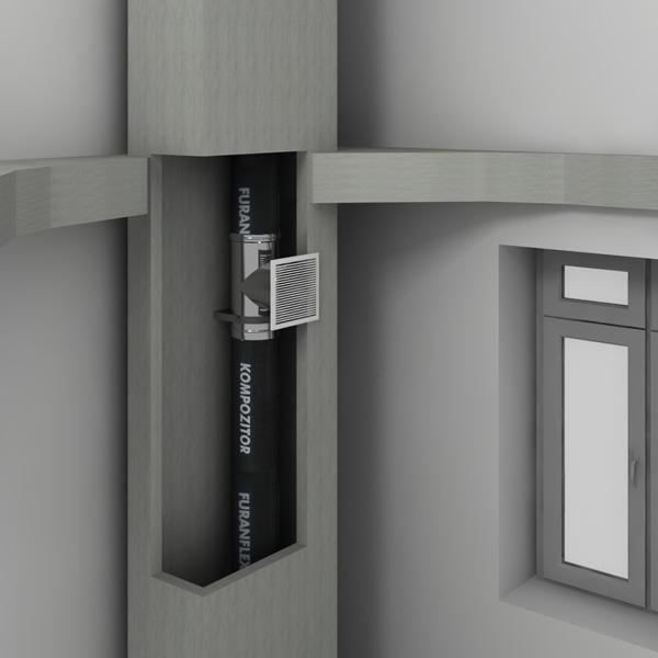 Профессиональная герметизация вентиляции материалом ФуранФлекс
