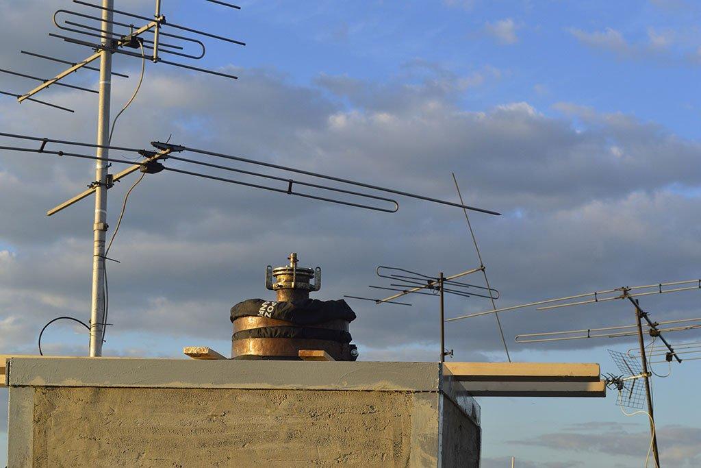 Санация дымохода полимерным чулком