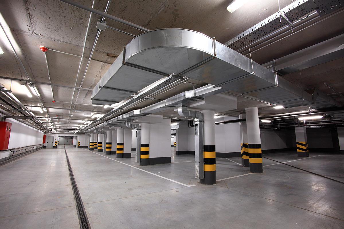 Вентиляция подземных паркингов