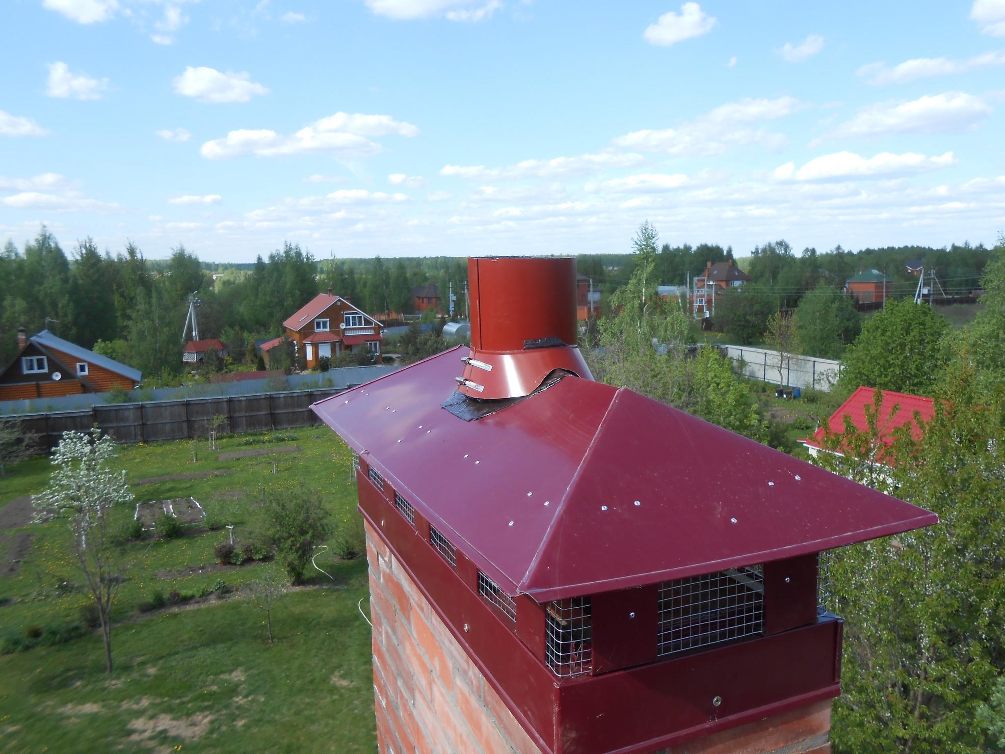 Нужен ли колпак для дымохода газового котла?