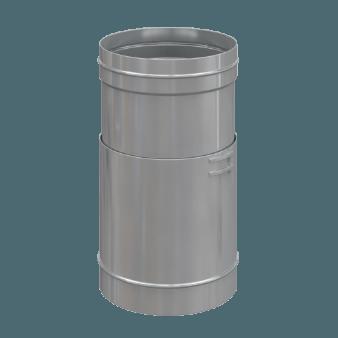 Труба телескопическая одноконтурная для дымохода