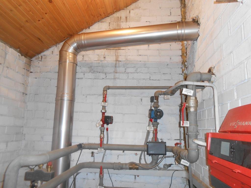 Газовый котел: отвод конденсата