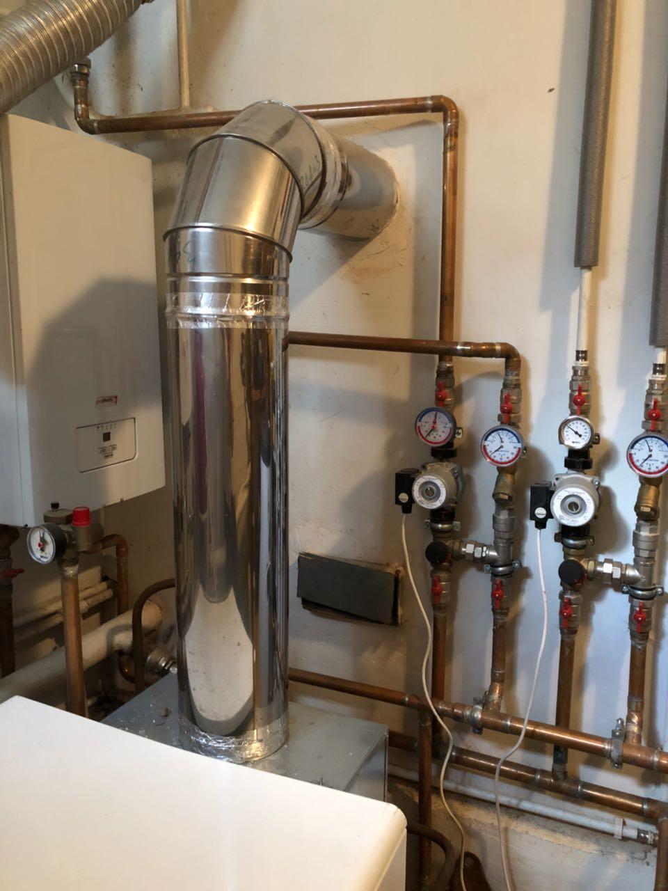 Требования к дымоходу для газовых котлов