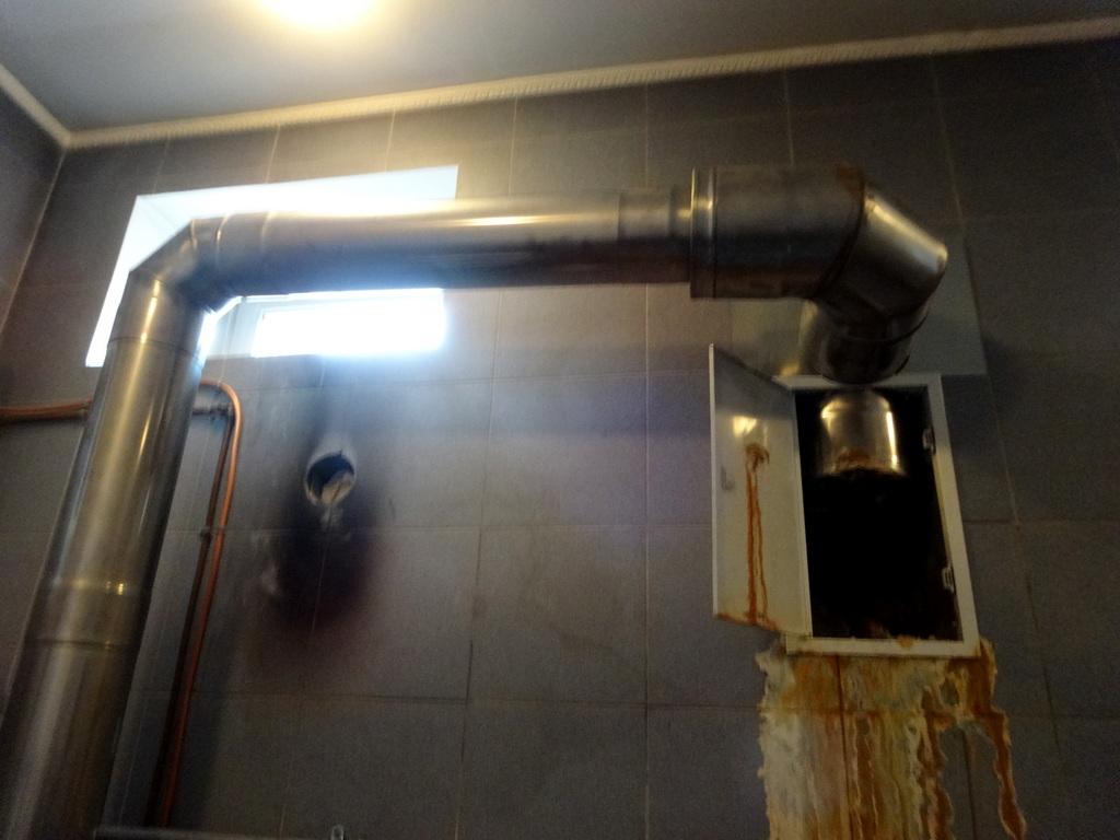Ремонт дымоходов производительных газовых котлов