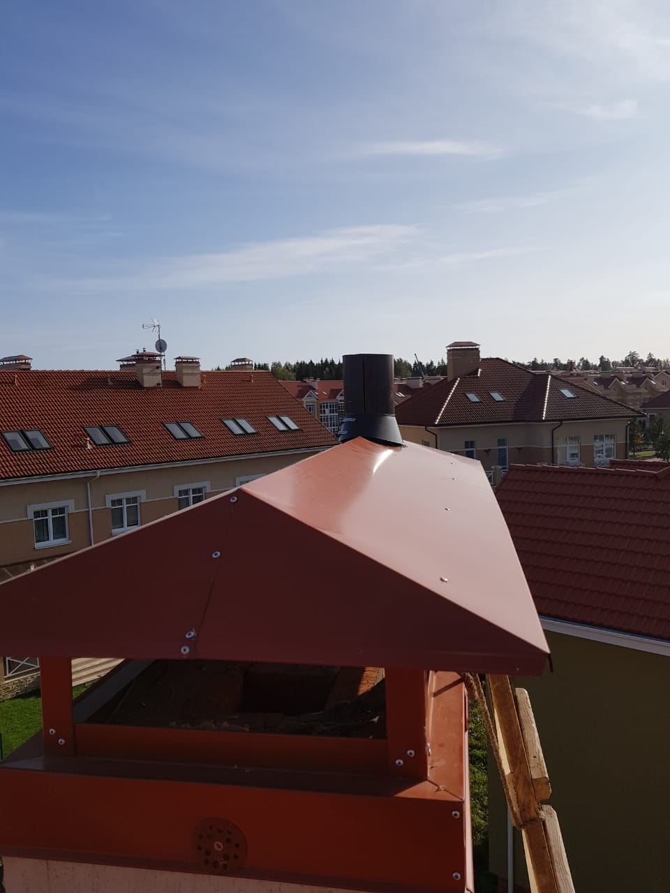 Дымоход для газового котла в частном доме