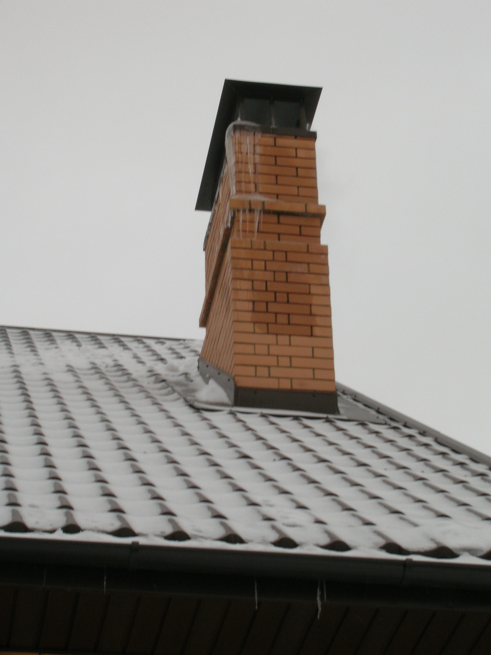 Обмерзание трубы дымохода газового котла